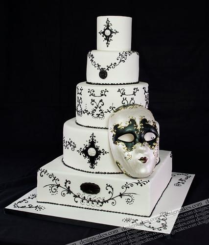 Venecian Mask Cakes