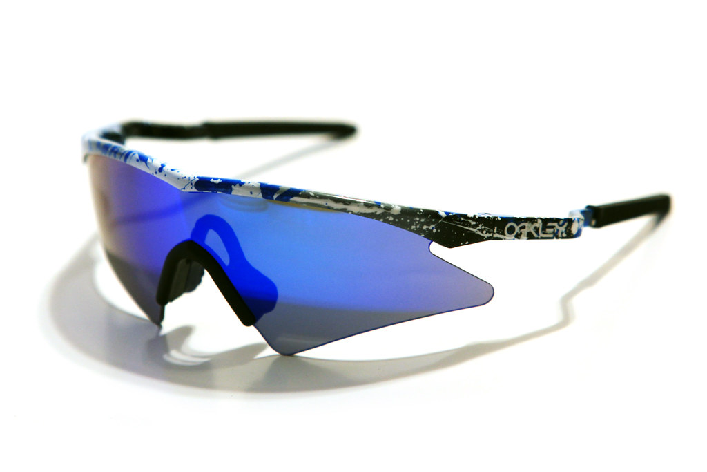 M Frame Sweep Splatter Grey/Blue Iridium | Dann Thombs | Flickr