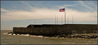 Fort Sumter From The Charleston Side | by Carey 1964