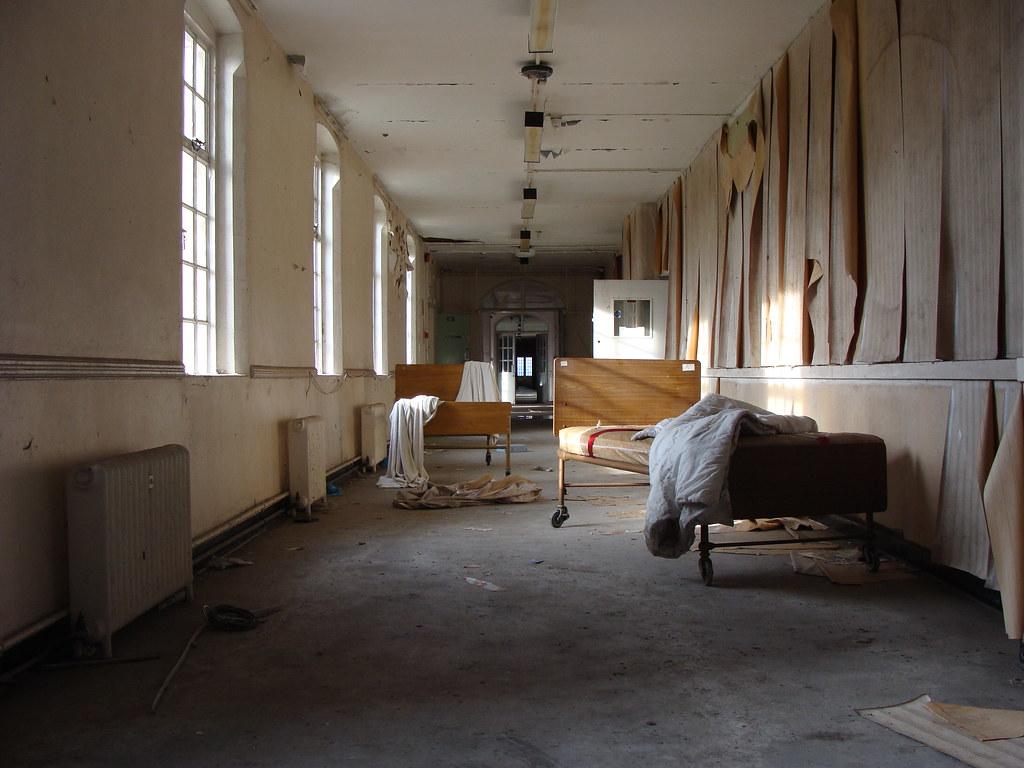 Springfield Hospital Corridor In 1841 Springfield