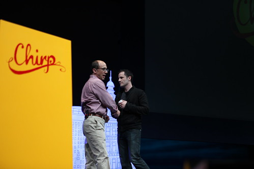 Chirp 2010 - Dick Costolo, Evan Williams | by b_d_solis