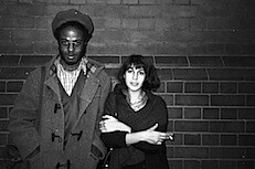Edward George / Lina Gopaul of  Black Audio Film Collective: Handsworth, Birmingham UK | by Pogus Caesar / OOM Gallery Archive