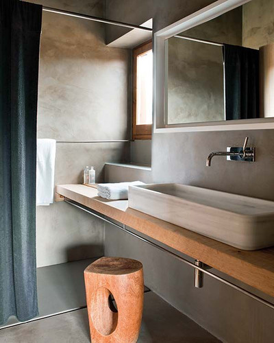 serene bathroom | by the style files