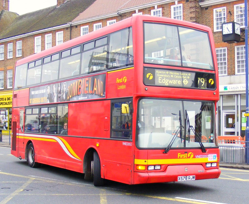 First London Centrewest London Buses Ltd Vne32052 X578