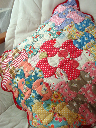Axe head patchwork - cushion | by STORY QUILT