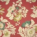 Large Roll of Vintage Burgundy Floral Wallpaper Waterhouse Collection
