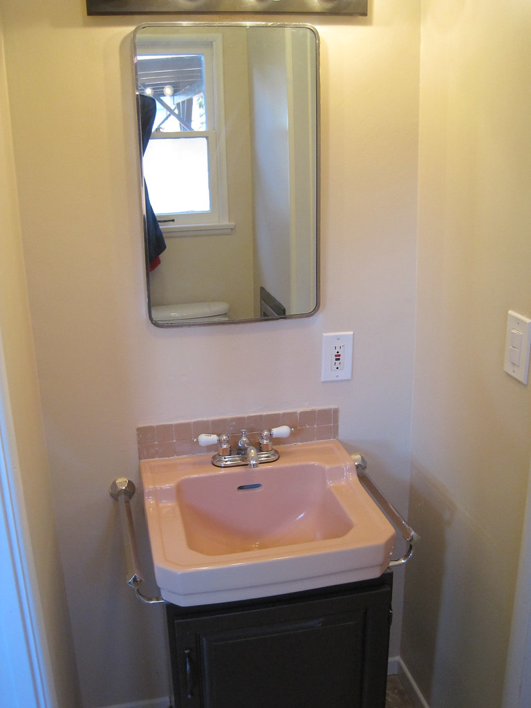 Half bath vanity by 5538 willow crest avenue 91601