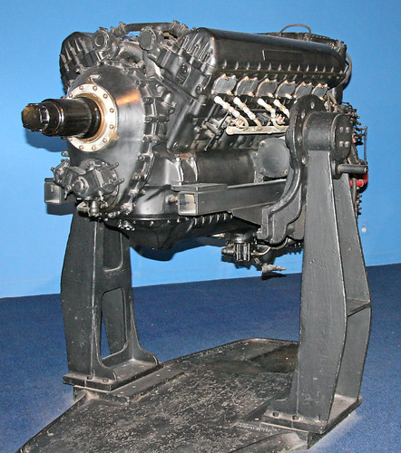 Rolls-Royce Merlin V-12 Engine