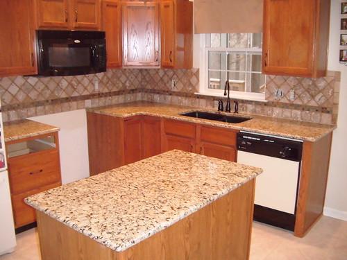 Granite Countertops With Kitchen Sink