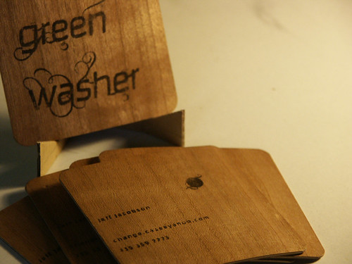 Green Washer Business Card 04 | by changecase