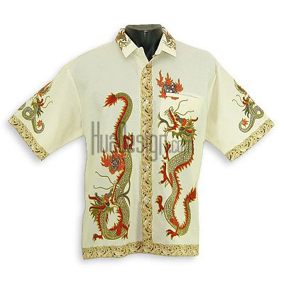 Red Chinese Dragon Shirt from Hua Designs | This photo is ...