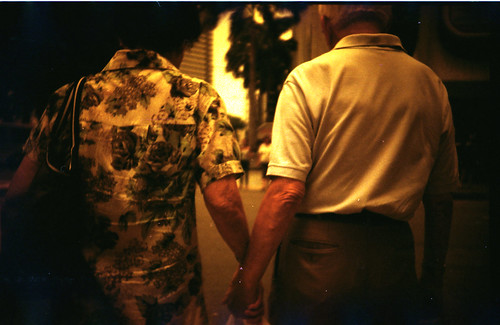sweet old couple holding hands | by becky-becks-boo