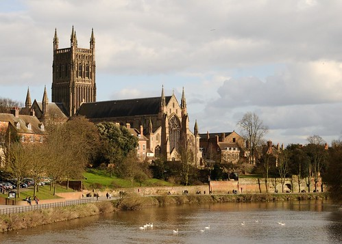 Worcester Cathedral | by akrabat
