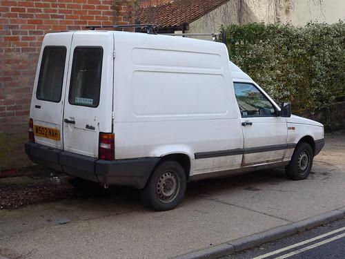 2000 Fiat Fiorino Van 1 7 Diesel Spottedlaurel Flickr