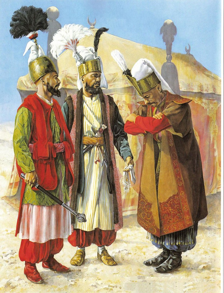 Ottoman Army Illustration Of Chirsta Hook Showing