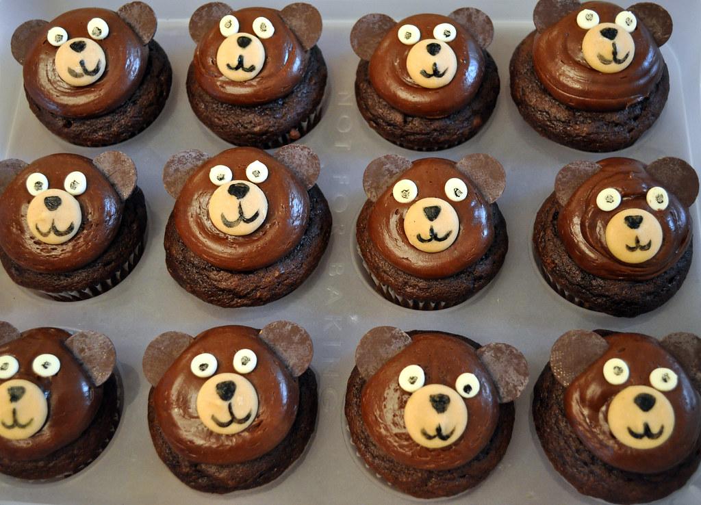 Chocolate Bear Cake