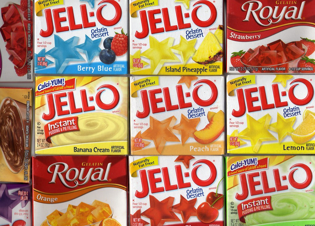 Jello A Gelatine Afters American Style Thanks To Tracy