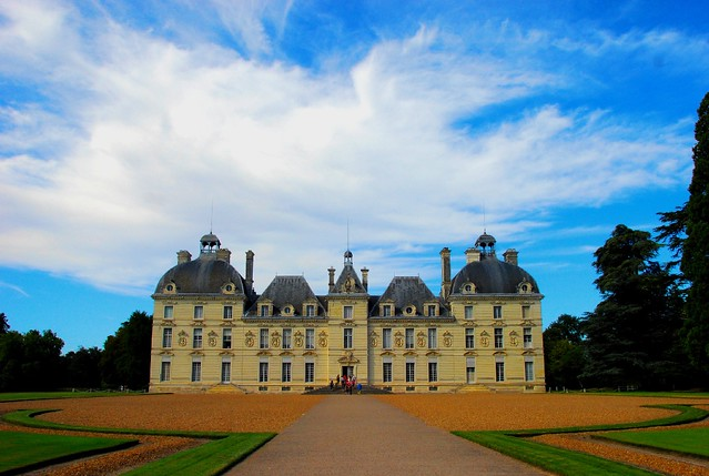 ch teau de cheverny castle of cheverny also called ch t. Black Bedroom Furniture Sets. Home Design Ideas