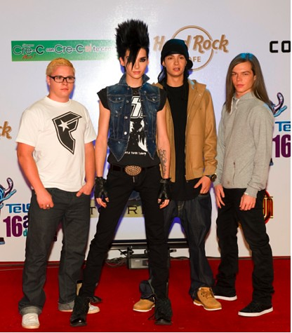 Tokio Hotel- Premios Telehit Nov/12/2009 Red Carpet (1) Ac… | Flickr