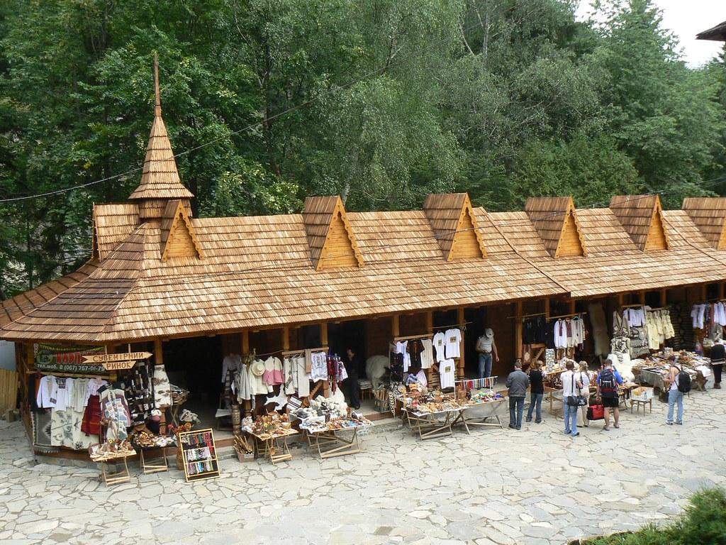 Yaremche Craft Market Ivano Frankivsk Region Western Ukr