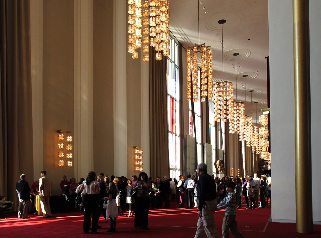 Grand Foyer Kennedy Center : Kennedy center grand foyer of the