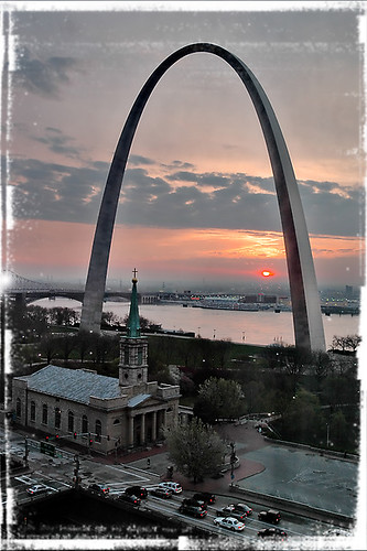 St Louis Sunrise | by sukkert