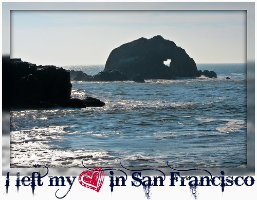 heart in rock (Sutro Bath Ruins San Francisco) | by Donna & Andrew