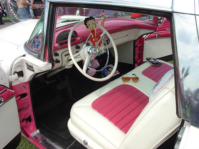 1955 Ford Fairlane Crown Victoria Interior Homer Simpson Flickr