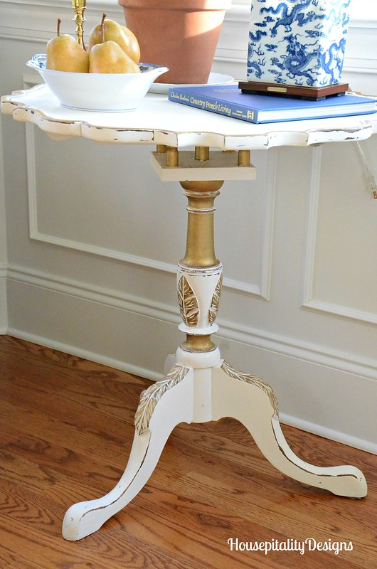 Painted Table Makeover-Dining Room-Housepitality Designs