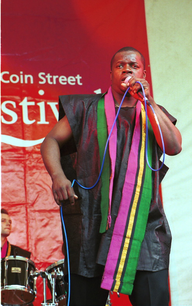 Coin Street Festival Dele Sosimi from Nigeria and Afrobeat