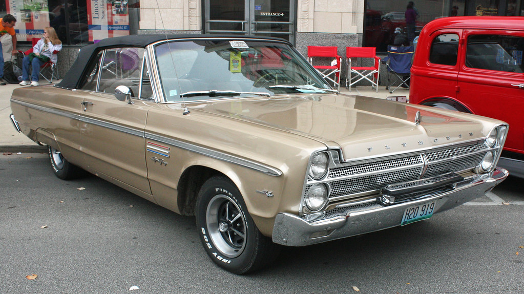 1965 Plymouth Sport Fury Convertible 2 Of 4 Interested