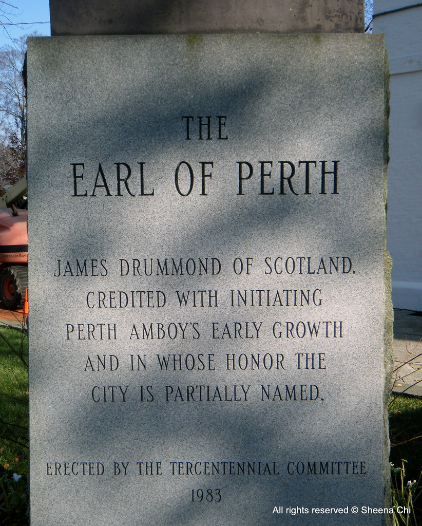 May The Fourth Be With You Waterside: THE EARL OF PERTH JAMES DRUMMOND OF