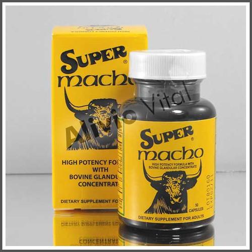 Super Macho - Bovine - Male Supplements   Buy Super Macho