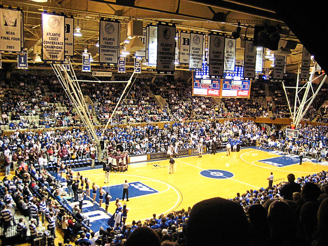 Cameron Indoor Stadium Duke Blue Devils Img 5304 Flickr