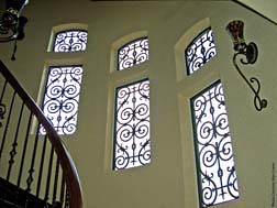 Faux Wrought Iron Window Treatment The Window Inserts