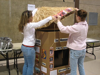 Exhibit Set-up2 | by Northeastern Wisconsin National History Day