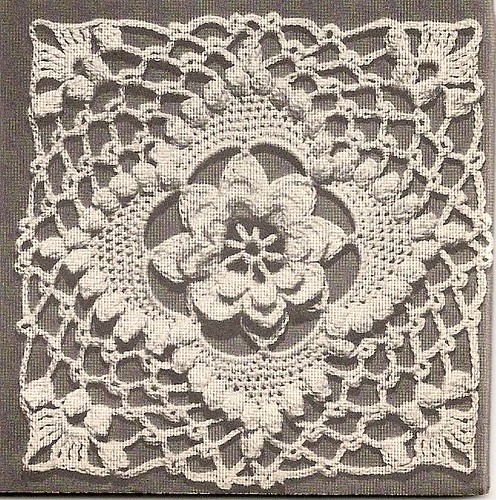 Vintage Crochet Motif - 1947 Pattern pdf available for ...