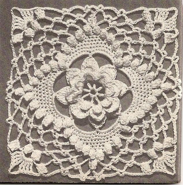 Irish Knitting Pattern Books : Vintage Crochet Motif - 1947 Pattern pdf available for ...