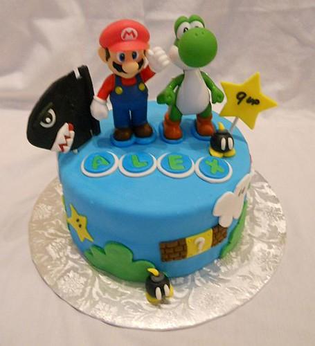 Super Mario Bros 9th Birthday Cake This 9th Birthday