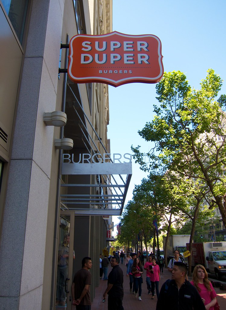 Super Duper Burgers Super Duper Burger Downtown