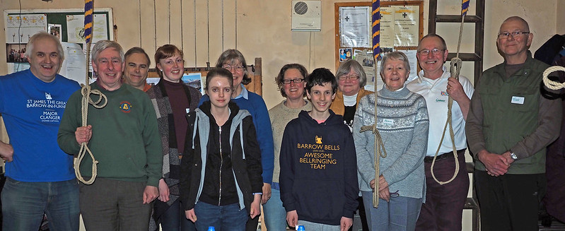 Group 2 end of day photo at Hensingham