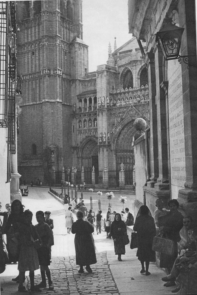 Catedral de Toledo el domingo de Ramos de 1949.