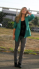 gray-jeans-wedges-teal-blazer-1 | by ...love Maegan