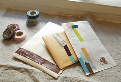 Decorate Envelopes With Japanese Masking Tape | by NoteMakerStationery