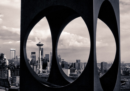 Seattle in B&W | by Erico M.