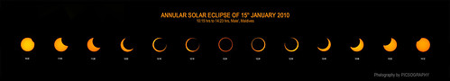 Annular Solar Eclipse of January 15, 2010 | by picsography