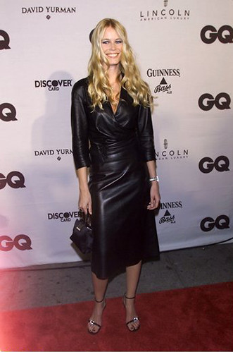 Claudia Schiffer New Leather Flickr