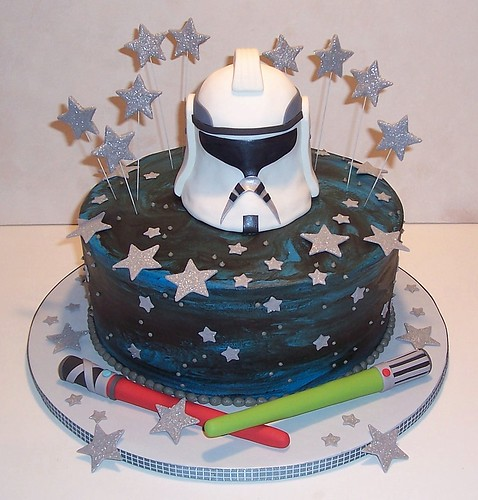 Images Of Star Wars Cake : clone wars cake Read more about this cake on the ...