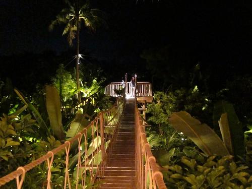 Img 0782 Fresh In The Garden Restaurant At Night You
