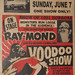 RAY-MOND AND HIS BLOOD CURDLING VOODOO SHOW window card